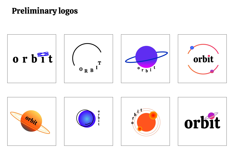 Preliminary logos