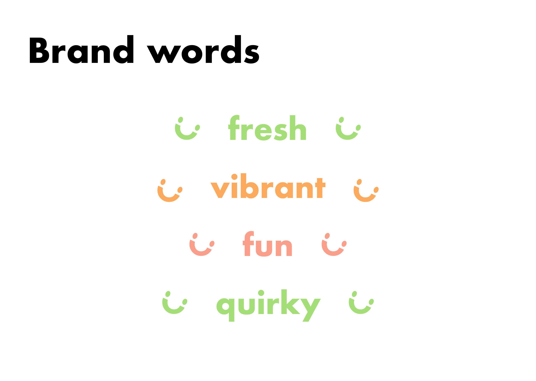Brand words